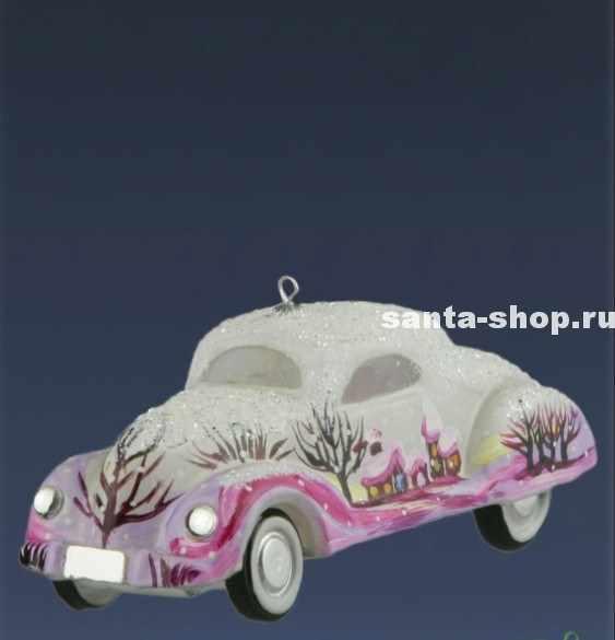 Ёлочная игрушка Автомобиль Барби