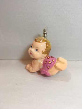 Ёлочная игрушка Новорожденная малышка