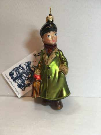 Ёлочная игрушка Мальчик с портфелем