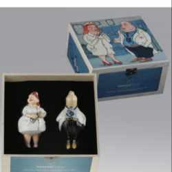 Ёлочная игрушка Набор Белоснежка. В деревянном ларце